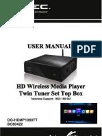 DGTECH user manual