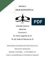 Cover Referat Andro Katarak Kongenital