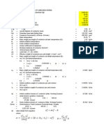 Perhitungan Sag Kabel