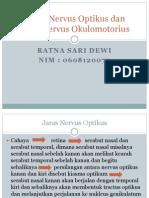 Jaras Nervus Optikus Dan Jaras Nervus Okulomotorius Pp