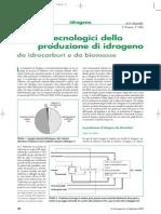 Idrogeno - Aspetti Tecnologici Della Produzione (La Termotecnica 2006)