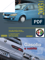 Quattroruote 2003 - Alfa 156, 166, Gtv & Spider