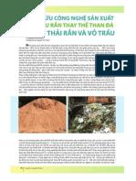 Công nghệ RDF từ chất thải rắn và vỏ trấu - TS. Nguyễn Vĩnh Khanh