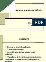 Tema 7. Dobanda Si Rata Dobanzii