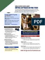Centex Attack Sample Calendar 2013
