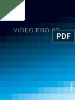 Manual Video Pro X2