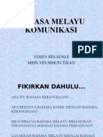 Bahasa Melayu Komunikasi
