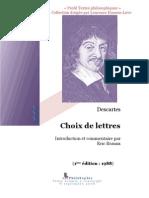 Descartes Lettres