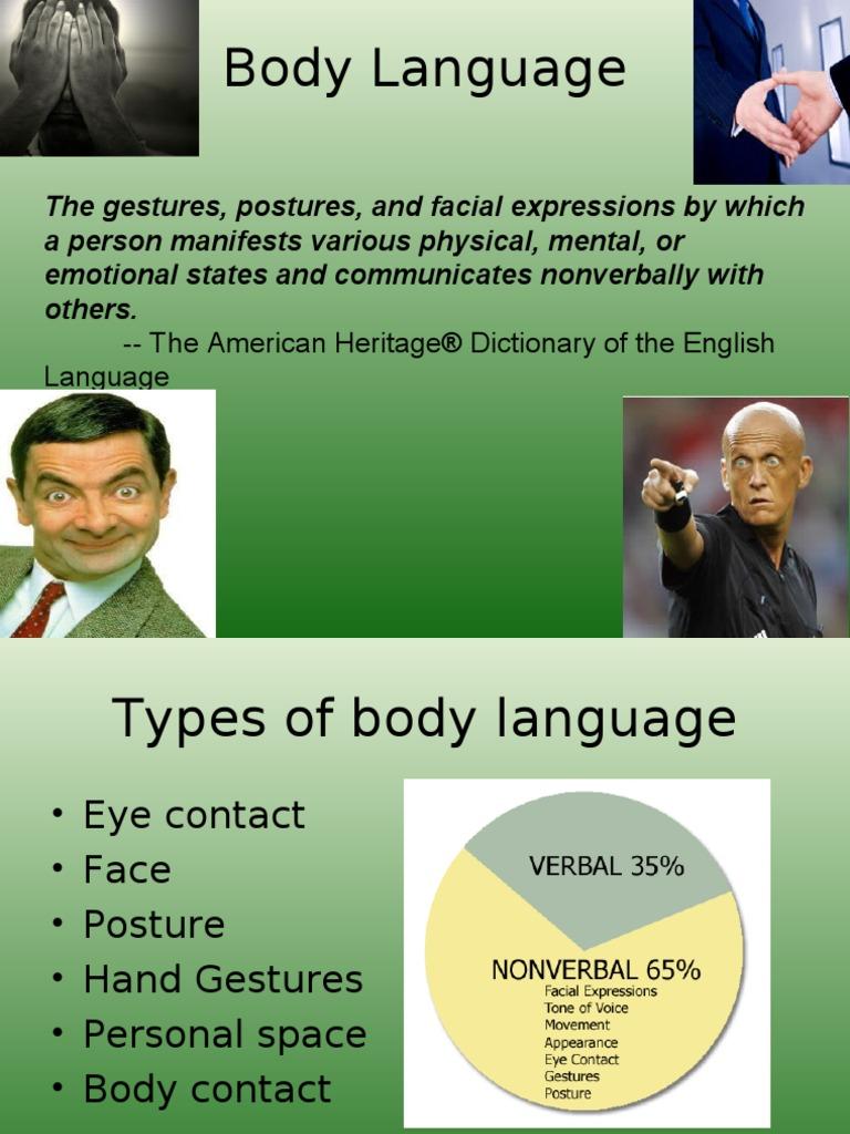 body-language | Body Language | Nonverbal Communication