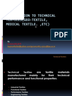 73641285 Introduction to Technical Textile Medical Textile