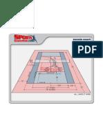 Tennis Court Dimensions Diagram