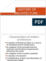 History of Architecture2