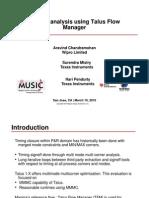 2-MMMC Analysis Using Talus Flow Manager