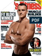 Mens Fitness Australian July 2012