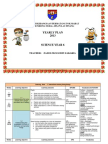 YEARLY PLAN SCIENCE YEAR 6 2013