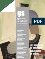 Gaceta Sindical reflexión y debate