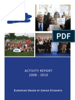 EUJS activity report 2008-2010