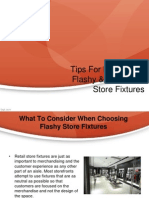 Tips for Purchasing Flashy & Functional Store Fixtures