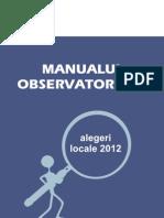 Manualul observatorului locale2012