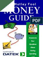 AA- The Motley Fool Money Guide