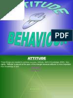 Attitude & Behaviour