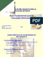 Programa de Pre-requisito Luz Catalan