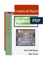 Trabajo sobre la financiación de las entidades deportivas, el caso del fútbol español
