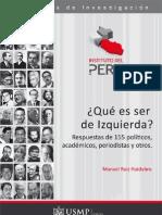 ¿Qué es Ser de Izquierda - Manuel Ruiz Huidobro