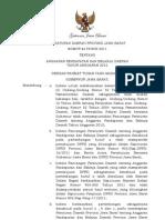 Perda tentang APBD Jawa Barat 2012