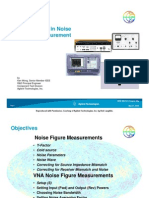 Agilent Technologies ~ Advancements in Noise Measurement by Ken Wong, 08-2008.