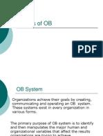 Models of OB