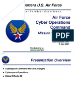 Air Force Cyber Operations Command