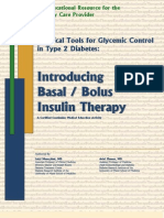 Basal-Bolus-Insulin-Therapy