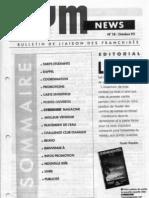 GYM NEWS N°18 Octobre 1992