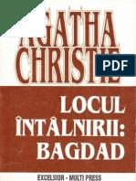 Agatha Christie Locul Intalnirii Bagdad