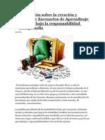 Investigación sobre la creación y diseño de Escenarios de Aprendizaje con TIC