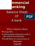 5 Balance Sheet of the Bank
