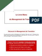 Le Livre Blanc Du Management de Transition