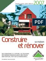 33509566 Leroy Merlin Bricolage Grand Guide Construire Et Renover Sa Maison