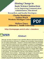Henderson AACU Session Nov 2008