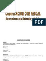 Sentencias basicas con Pascal