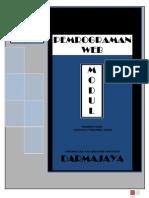 Modul Pemrograman Web