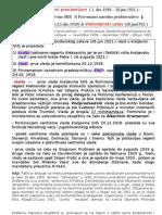 Drzavnopravni Provizorijum (PNP,Vlada i Kralj) & Vidovdanski Ustav