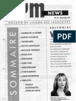 GYM NEWS N°19 Novembre 1992