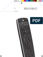 Controle Philips SRU5108