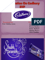 cadbury  EVP HR mdel