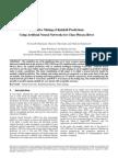Rainfall Prediction Using Neural Networks