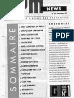 GYM NEWS N°20 Décembre 1992