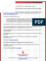 Diccionario Canon