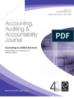 Journal accounting and auditing